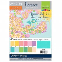 Florence Cardstock smooth A4 216g Multipacks