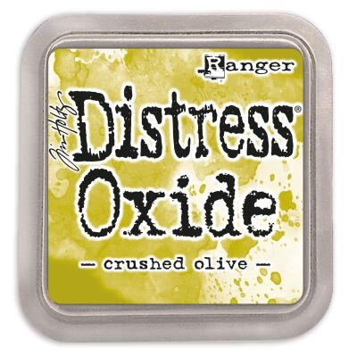 Ranger/Tim Holtz Distress Oxide innovatives Stempelkissen, Farbe: crushed olive