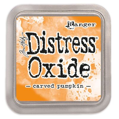 Ranger/Tim Holtz Distress Oxide innovatives Stempelkissen, Farbe: carved pumpkin