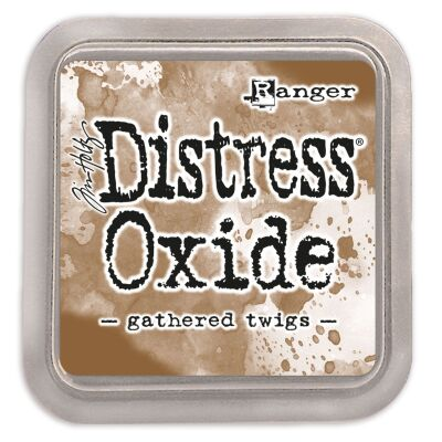 Ranger/Tim Holtz Distress Oxide innovatives Stempelkissen, Farbe: gathered twigs