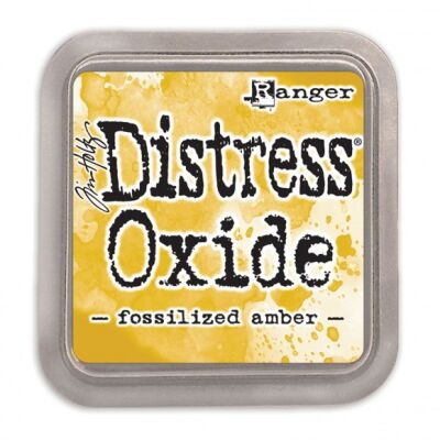 Ranger/Tim Holtz Distress Oxide innovatives Stempelkissen, Farbe: fossilized amber