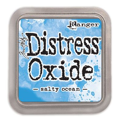 Ranger/Tim Holtz Distress Oxide innovatives Stempelkissen, Farbe: salty ocean