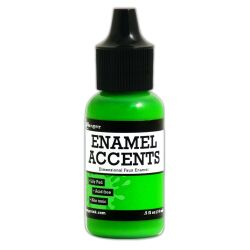Enamel Accents von Ranger, 14 ml, Farbe: lily pad