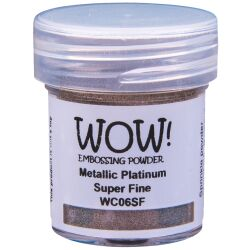 WOW Embossingpulver 15ml, Metallics, Farbe: Metallic...