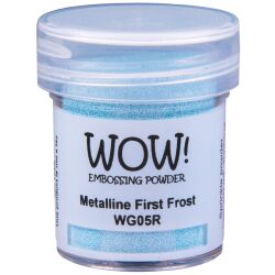 WOW Embossingpulver 15ml, Metalline, Farbe: First Frost
