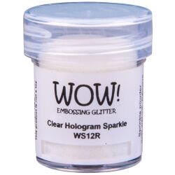 WOW Embossingpulver 15ml, Glitters, Farbe: Clear Hologram...