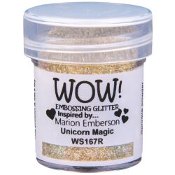 WOW Embossingpulver 15ml, Glitters, Farbe: Unicorn Magic...