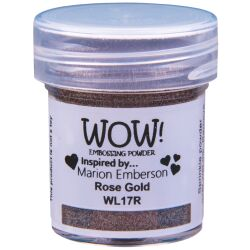WOW Embossingpulver 15ml, Colour Blends, Farbe: Rose Gold