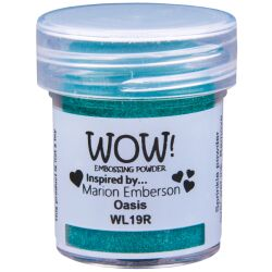 WOW Embossingpulver 15ml, Colour Blends, Farbe: Oasis