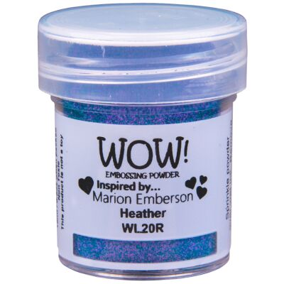 WOW Embossingpulver 15ml, Colour Blends, Farbe: Heather