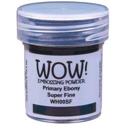 WOW Embossingpulver 15ml, Primary, Farbe: Ebony...