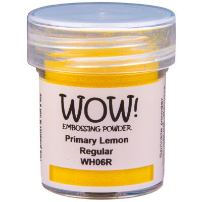 WOW Embossingpulver 15ml, Primary, Farbe: Lemon Translucent