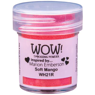 WOW Embossingpulver 15ml, Primary, Farbe: Soft Mango Translucent
