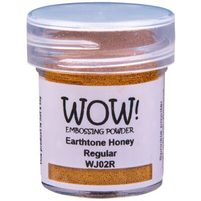 WOW Embossingpulver 15ml, Earth Tones, Farbe: Honey