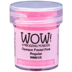 WOW Embossingpulver 15ml, Pastel, Farbe: Pastel Pink