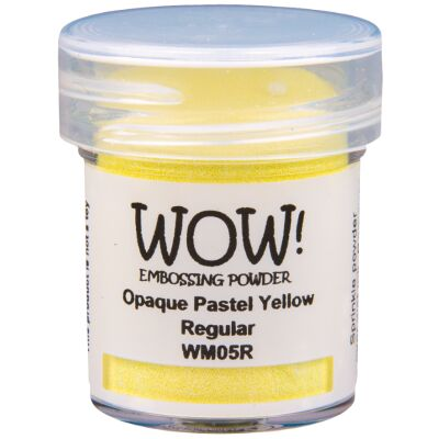 WOW Embossingpulver 15ml, Pastel, Farbe: Pastel Yellow