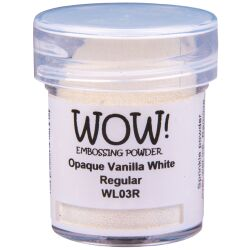WOW Embossingpulver 15ml, Whites, Farbe: Vanilla White