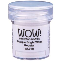 WOW Embossingpulver 15ml, Whites, Farbe: Bright White...