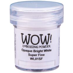 WOW Embossingpulver 160ml, Whites, Farbe: Bright White...