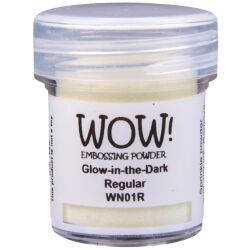 WOW Embossingpulver 15ml, Glow in the Dark