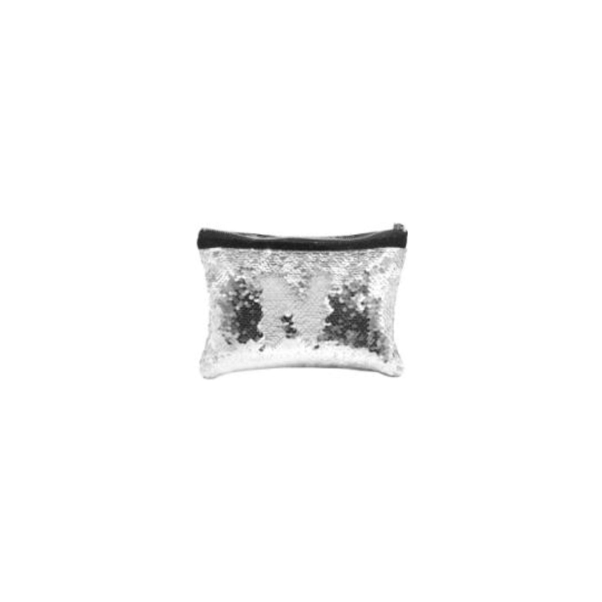 Sublimierbare Tasche Mit Weissen Wendepallietten Farbe Silber