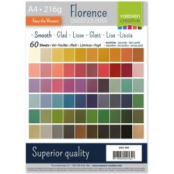 Florence Cardstock smooth Multipack, A4, 216g, 60 Blatt...