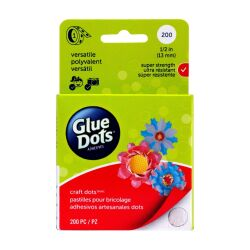 Glue Dots super strenght  Dots Roll 13mm 200 Stück,...