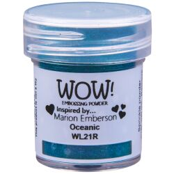 WOW Embossingpulver 15ml, Colour Blends, Farbe: Oceanic