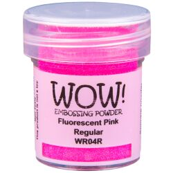 WOW Embossingpulver 15ml, Fluorescent Farbe: Pink