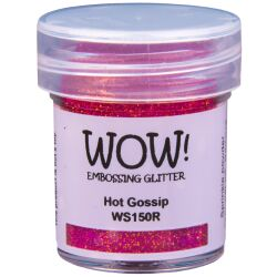 WOW Embossingpulver 15ml, Glitters, Farbe: Hot Gossip...
