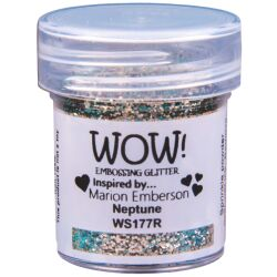 WOW Embossingpulver 15ml, Glitters, Farbe: Neptune Opaque