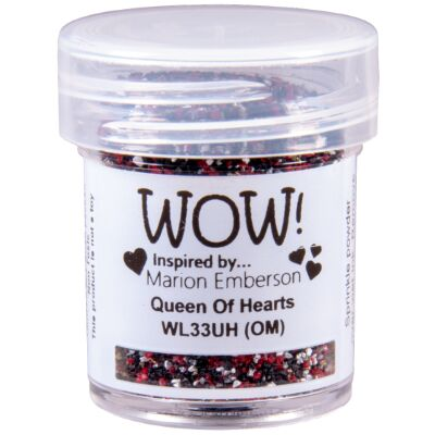 WOW Embossingpulver 15ml, Colour Blends, Farbe: Queen of Hearts