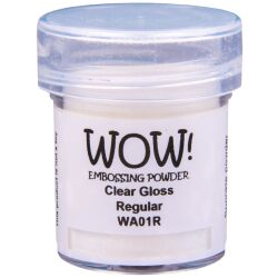 WOW Embossingpulver 160ml, Clears, Farbe: Clear Gloss...