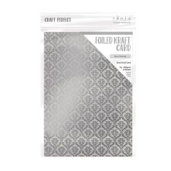 Tonic Studios Craft Perfect, Foiled Card, A4, 5x 280g,...