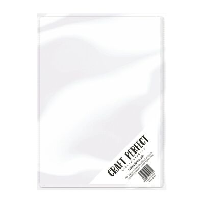 Tonic Studios Craft Perfect, Ultra Smooth Card, A4, 5x 240g,