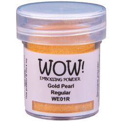 WOW Embossingpulver 15ml, Pearlescents, Farbe: Gold Pearl