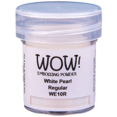 WOW Embossingpulver 15ml, Pearlescents, Farbe: White Pearl