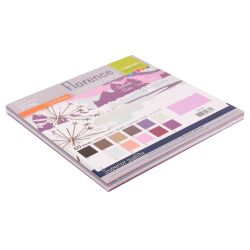 Florence Cardstock smooth 30,5x30,5 Multipack, 216g, 12x5...