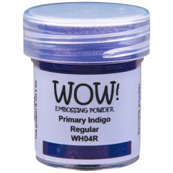 WOW Embossingpulver 15ml, Primary, Farbe: Indigo Translucent