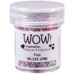 WOW Embossingpulver 15ml, Colour Blends, Farbe: Fizz
