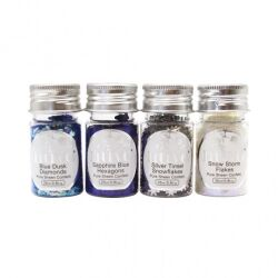Tonic Studio Nuvo Pure Sheen Confetti, 4 x 25 ml, Let It...