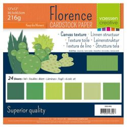 Florence Cardstock texture Multipack, 30,5x30,5, 216g, 24...