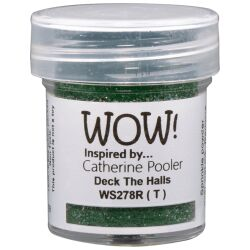 WOW Embossingpulver 15ml, Glitters, Farbe: Deck the Halls